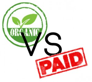 Organic vs PAid website traffic