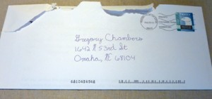 Personalized Direct Mail Envelope