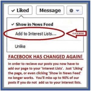 Facebook Algorithm Changes October 2012