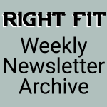 right fit newsletter archive badge